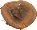Baseball Collectibles:Uniforms, 1979 Thurman Munson Game Used Catcher's Mitt....