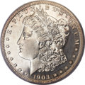 Proof Morgan Dollars, 1903 $1 PR63 Cameo PCGS. CAC....