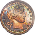 Proof Barber Quarters, 1909 25C PR67 NGC....