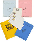 "Movie/TV Memorabilia:Documents, A Collection of Scripts from ""Taxi.""... (Total: 12 Items)"