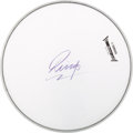 Music Memorabilia:Autographs and Signed Items, Beatles Ringo Starr Autographed Drumhead....