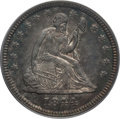 Seated Quarters: , 1844-O 25C AU55 PCGS. PCGS Population (8/24). NGC Census: (3/26).Mintage: 740,000. Numismedia Wsl. Price for problem free ...