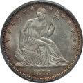 Seated Half Dollars: , 1878 50C MS62 PCGS. PCGS Population (16/46). NGC Census: (9/37).Mintage: 1,378,400. Numismedia Wsl. Price for problem free...