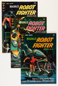 Silver Age (1956-1969):Science Fiction, Magnus Robot Fighter Group (Gold Key, 1966-69) Condition: AverageVF+.... (Total: 11 Comic Books)