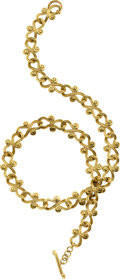 Estate Jewelry:Necklaces, Elliott 18k Gold Necklace. ...