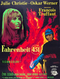 """Movie Posters:Science Fiction, Fahrenheit 451 (Universal International, 1967). French Grande (47"""" X 63"""").. ..."""