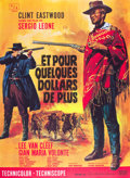 "Movie Posters:Western, For a Few Dollars More (United Artists, 1967). French Grande (47"" X63"").. ..."