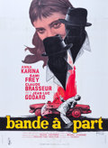 "Movie Posters:Crime, Band of Outsiders (Columbia, 1964). French Grande (47"" X 63"").. ..."
