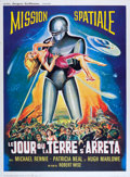 """Movie Posters:Science Fiction, The Day the Earth Stood Still (Jacques Leitienne, R-1960s). French Grande (47"""" X 63"""").. ..."""