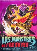 "Movie Posters:Science Fiction, Dinosaurus! (Universal International, 1961). French Grande (47"" X 63"").. ..."