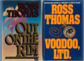 Books:Mystery & Detective Fiction, Ross Thomas. Group of Two First Edition, First Printing Books.Mysterious Press, 1987-1992. Mild shelfwear, else fine.... (Total:2 Items)
