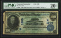 National Bank Notes:Kentucky, Paducah, KY - $100 1902 Date Back Fr. 690 The First NB Ch. #(S)1599. ...