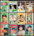 Baseball Cards:Lots, 1950's-1980's Topps & Fleer Baseball Collection (105) With ManyStars and HoFers....