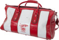 """Football Collectibles:Others, Elroy Hirsch """"Crazylegs Classic"""" Leather Duffel Bag...."""