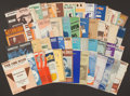Football Collectibles:Others, Vintage Pieces of Sheet Music Lot of 50+, From the Family of Elroy Hirsch....