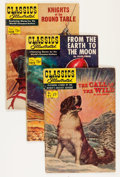 Golden Age (1938-1955):Classics Illustrated, Classics Illustrated First Editions Group (Gilberton, 1952-61) Condition: Average VG-.... (Total: 14 Comic Books)