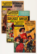 Golden Age (1938-1955):Classics Illustrated, Classics Illustrated Group (Gilberton, 1950s-60s) Condition: Average VG.... (Total: 45 Comic Books)