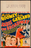 "Movie Posters:Musical, Babes on Broadway (MGM, 1941). Window Card (14"" X 22""). Musical.. ..."