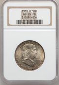 Franklin Half Dollars: , 1950-D 50C MS65 Full Bell Lines NGC. NGC Census: (171/7). PCGSPopulation (597/51). Numismedia Wsl. Price for problem free...