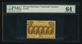 Fractional Currency:First Issue, Fr. 1280 25¢ First Issue PMG Choice Uncirculated 64.. ...
