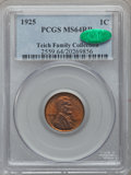 Lincoln Cents: , 1925 1C MS64 Red and Brown PCGS. CAC. Ex: Teich Family Collection.PCGS Population (109/50). NGC Census: (115/79). Mintage:...