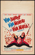"Movie Posters:Adventure, Viva Maria! (United Artists, 1966). Window Card (14"" X 22"").Adventure.. ..."