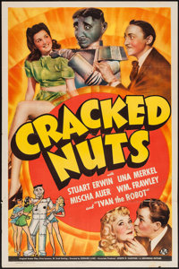 "Cracked Nuts (Universal, 1941). One Sheet (27"" X 41""). Comedy"