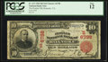 National Bank Notes:Virginia, Roanoke, VA - $10 1902 Red Seal Fr. 613 The Peoples NB Ch. #(S)6798. ...