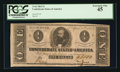 Confederate Notes:1863 Issues, Fully Framed T62 $1 1863.. ...