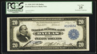 Fr. 828 $20 1915 Federal Reserve Bank Note PCGS Very Fine 25