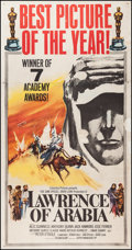 "Movie Posters:Academy Award Winners, Lawrence of Arabia (Columbia, 1962). Three Sheet (41"" X 79"")Academy Award Style. War.. ..."
