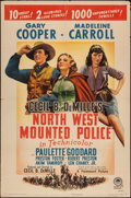 """Movie Posters:Adventure, North West Mounted Police (Paramount, R-1945). One Sheet (27"""" X41""""). Adventure.. ..."""