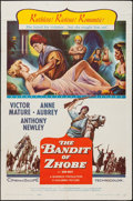 "Movie Posters:Action, The Bandit of Zhobe (Columbia, 1959). One Sheet (27"" X 41""). Action.. ..."