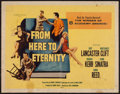 "Movie Posters:Academy Award Winners, From Here to Eternity (Columbia, R-1958). Half Sheet (22"" X 28"").Academy Award Winners.. ..."