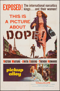 """Pickup Alley (Columbia, 1957). One Sheet (27"""" X 41""""). Crime"""