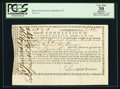Colonial Notes:Connecticut, Connecticut Treasury Office Certificate. February 1, 1781. PCGSApparent Very Fine 30.. ...