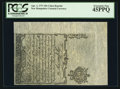 Colonial Notes:New Hampshire, Cohen Reprint New Hampshire April 1, 1737 10s PCGS Extremely Fine45PPQ.. ...