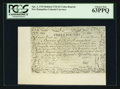 Colonial Notes:New Hampshire, Cohen Reprint New Hampshire April 3, 1755 Redated June 1, 1756 £3PCGS Choice New 63PPQ.. ...