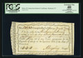 Colonial Notes:Connecticut, Connecticut Fiscal Paper Interest Certificate Hartford, CT PCGS Apparent Extremely Fine 40.. ...