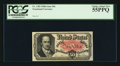 Fractional Currency:Fifth Issue, John New Courtesy Autograph Fr. 1381 50¢ Fifth Issue PCGS Choice About New 55PPQ.. ...