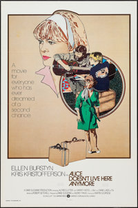 """Alice Doesn't Live Here Anymore & Others Lot (Warner Brothers, 1974). International One Sheets (4) (27"""" X 41&qu..."""