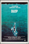 "Movie Posters:Adventure, The Deep (Columbia, 1977). International One Sheet (27"" X 41"") FlatFolded. Adventure.. ..."