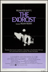 "The Exorcist (Warner Brothers, 1974). International One Sheet (27"" X 41""). Horror"