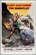 """Movie Posters:Action, The Gauntlet (Warner Brothers, 1977). International One Sheet (27"""" X 41"""") Flat Folded. Action.. ..."""
