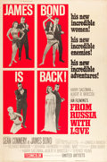 "Movie Posters:James Bond, From Russia with Love (United Artists, 1964). Poster (40"" X 60"")Style Z.. ..."