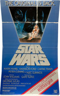 "Movie Posters:Science Fiction, Star Wars (20th Century Fox, 1977, 1978, & R-1982). Standees(3) (36"" X 45"") Styles A, D, & Reissue. From the collectiono... (Total: 3 Items)"