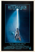 "Movie Posters:Science Fiction, Return of the Jedi (20th Century Fox, 1983). Posters (2) (40"" X60"") Styles A & B. From the collection of the late JohnL.... (Total: 2 Items)"