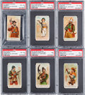 "Non-Sport Cards:Sets, 1887 N3 Allen & Ginter ""Arms of All Nations"" Near Set (42/50)...."