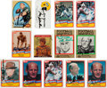 Football Collectibles:Others, Collection of Football Signed Cards & Business Cards - Mostly Pro Football Hall of Famers. ...