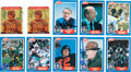 Football Collectibles:Others, 1988 Swell Football Hall of Fame Signed Cards - Lot of 161.... (Total: 57 item)